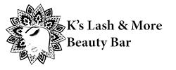 K's Lash and Beauty Logo