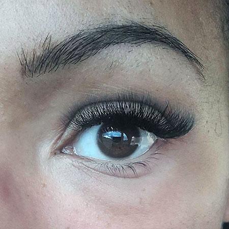 Eyelash Extension Close Up